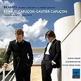 Brahms: Doppelkonzert / Klarinetten Quintett - R. & G. Capucon