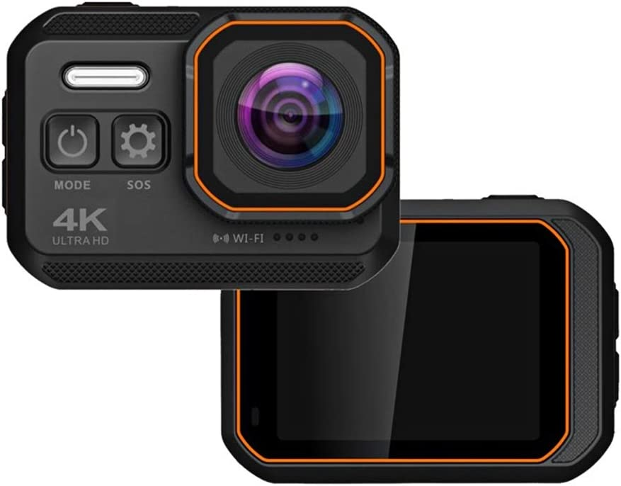 ZCFXGHH Ultra HD 4K Action Camera Screen Selling 108 Waterproof 10m 2.0' Selling