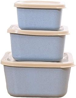 aedouqhr Boîtes de Rangement pour Aliments de Cuisine, Ensemble de boîtes de Rangement sans BPA, Convient au congélateur, ...