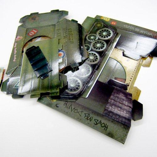 『サック・ユー・ケー (suck UK) サック・ユー・ケー キャットプレイハウス 戦車』の4枚目の画像