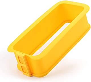 QLJJSD Baking Tray, Silicone Toast Mold Baking Tool, Non-stick Cake, Bread Mold Baking Tray Tool, Household Oven Special C...