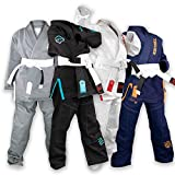 Sanabul Future Legend Kids Brazilian Jiu Jitsu BJJ Gi (Black/Blue, K3)