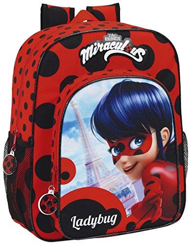 4. Mochila Escolar Safta Ladybug - Compacta y confiable