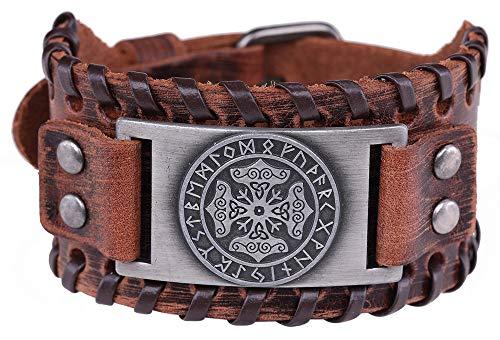 VASSAGO Amuleto Vintage de Martillo de Thor nórdico