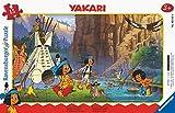 Ravensburger Puzzle Ravensburger 05141 - Puzzle Infantil (15 Piezas), diseño de Camping con Amigos, Color Amarillo