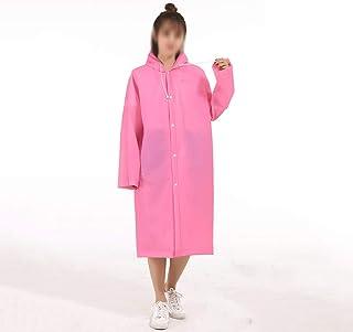 WZHZJ 4 in 1 Raincoat Long Full Body Rainproof Single Men and Women Bicycle Adult Poncho (Size : Large)