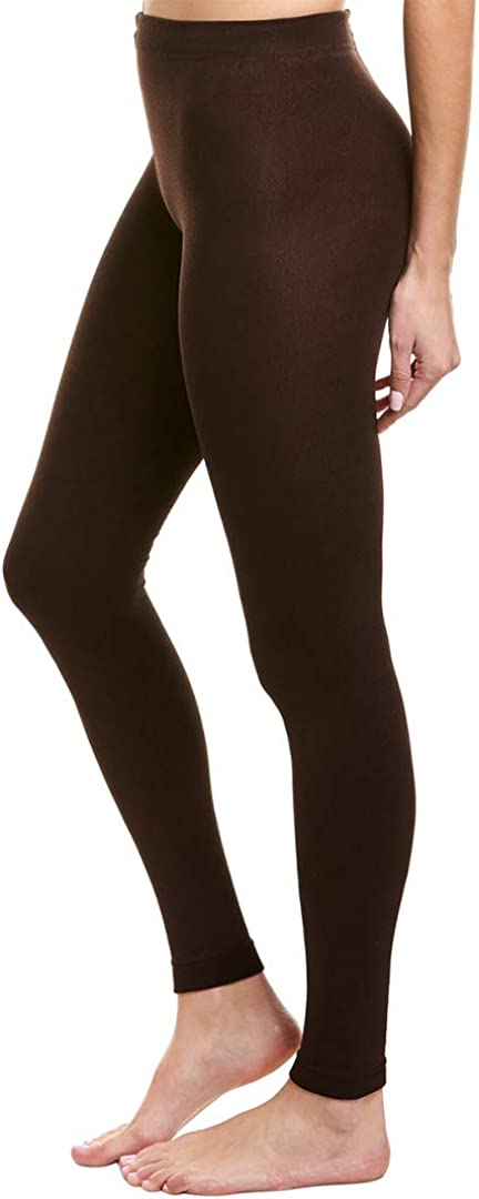 Plush 2021 new Womens Limited price Fleece-Lined Footless Tights