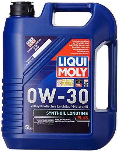 LIQUI MOLY 1151 Synthetiköl Longtime Plus 0W-30, 5 L