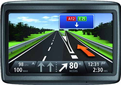 TomTom Via Live 120 Europe (10,8cm (4,3 Zoll) Display, 45 Länderkarten Europa, 1 Jahr HD Traffic, Bluetooth, Sprachsteuerung)