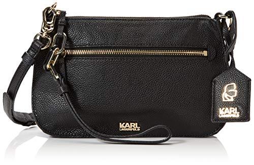 Karl Lagerfeld Umhängetasche schwarz
