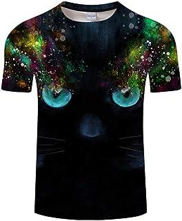bd8bff80c Amazon.es: Gato Negro - Camisetas / Camisetas, polos y camisas: Ropa