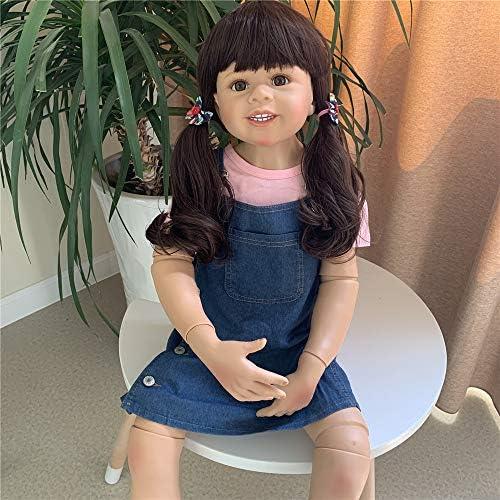 Zero Pam Large Toddler Reborn Doll Girl 39inch Full Body Hard Vinyl Life Like Baby Dolls Girl product image