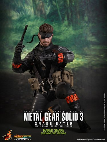 Metal Gear Solid Snake Eater Video Game Masterpiece Naked
