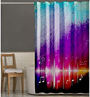 Right Canvas Multi Color 180cm x 200cm Shower Curtain - RG138NPBF00040