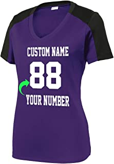 Customized Unisex and Ladies Jersey Personalized with Your Name and Team Number Soccer Volleyball Jersey