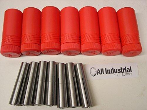 Lowest Price! #2 Morse Taper Collet 7 Pc Set 1/8 - 1/2 2MT MT2 3/16 1/4 3/8 Round Chuck