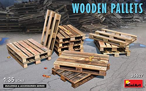 ミニアート 1/35 木製パレットセット 12枚入 プラモデル MA35627