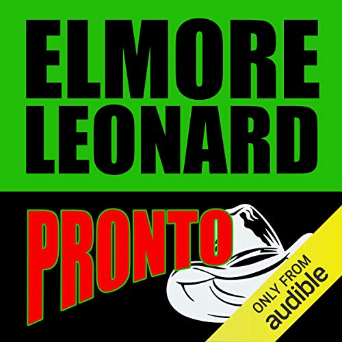 Pronto audiobook cover art