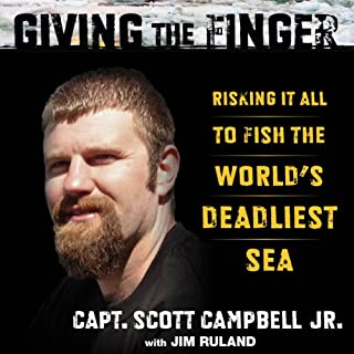 Giving the Finger audiobook cover art