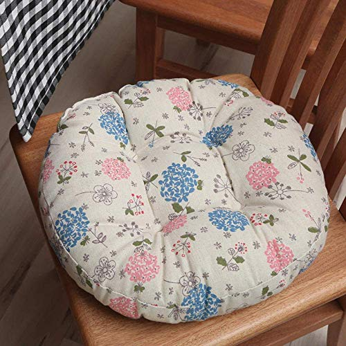 zyl Chair Cushions Seat Cushions Chair A Set of 2 Modern Round Stools Removable and Washable Fart Tatami Brown Diameter 40cm For Kitchen Dining Room Garden Cushion for s