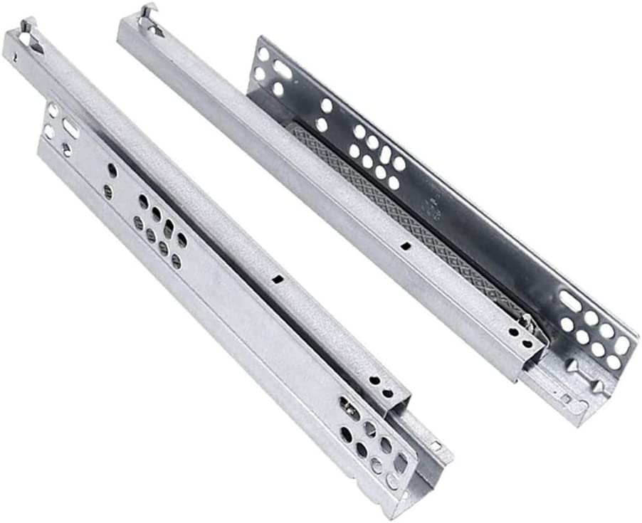 YUANP Drawer Slide Track Stainless Rail Raleigh Mall depot Damping Ste