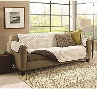 Couch Coat Funda para Sofá de Doble Cara 2plazas Reversible Sofá