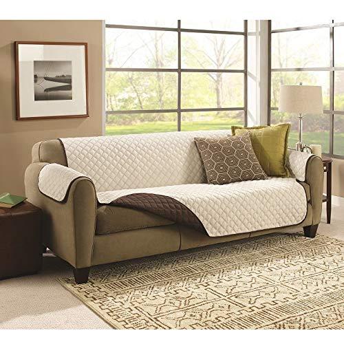 Funda reversible para sofá de 2 plazas