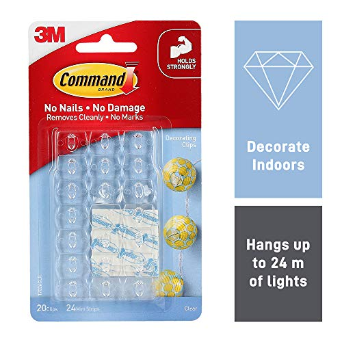 Command 17026CLR Decoration Clips for Christmas and...