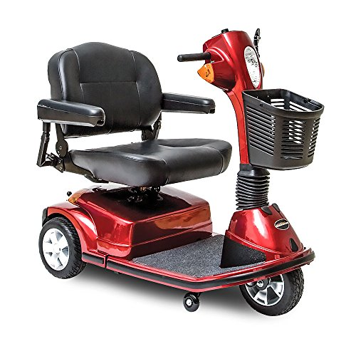 Pride Maxima 3-Wheel Mobility Scooter Red