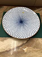 有田焼 柳山作 和皿 網絵 柄 木箱付 前所有者様の名前が入っております コレクション