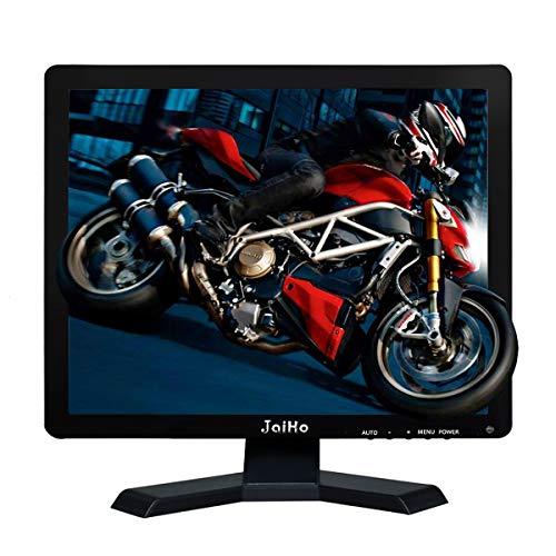 JaiHo Monitor LCD da 19 pollici Risoluzione 1280x1024 Schermo 4: 3 FHD 1080P HD Video Audio Display HDMI BNC VGA AV USB Input Auricolare per PC Camera DVR CCTV