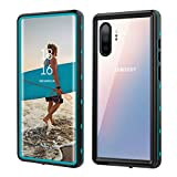 Zimu Joy Samsung Galaxy Note10+ Plus Waterproof Case, Shockproof Snowproof Impact Resist Cover IP68 Underwater Full Body Protection Case with Built-in Screen Protector Case for Note 10+ (Blue+Clear)