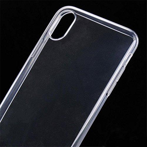 Handy Lux® Ultra dünn Handy Schutz Hülle Cover Clear Case Silikon für Huawei Nova 2s - 6