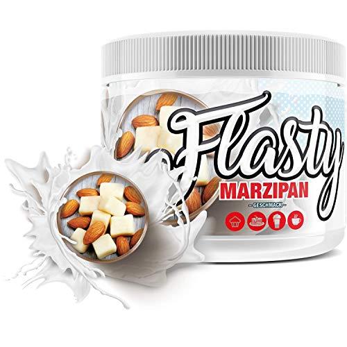 sinob Flasty Geschmackspulver (Marzipan) 1 x 250g Kalorienarmes Flavour Pulver mit 'Nur ca. 7 kcal pro Portion' bringt es Leben in deinen Quark, Joghurt und vielem mehr.