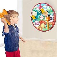 GXSGTT ダーツボード、クリスマスボールダーツボードスポーツゲームのおもちゃの壁掛け壁子供のための4つの粘着ボールとぶら下がっている装飾 (Size : C)