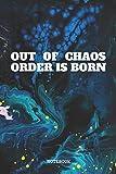 Notebook: Chaos Theory Nerd Planner / Organizer / Lined Notebook (6' x 9')