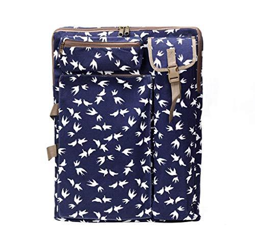 Art Portfolio Case Tote Bag Carry Backpack - 4K Canvas Artist Travel Storage Bag for Drawing, Sketching, Painting, Art Supplies, Artwork, Sketch Board, Sketch Pad, Drawing Board, Easel, Palette