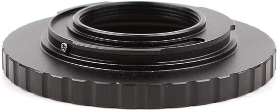 Dual Purpose Lens Adapter Suit for M42 Screw C-Mount Movie Lens to Micro Four Thirds 4/3 MTF Camera Infinity Focus