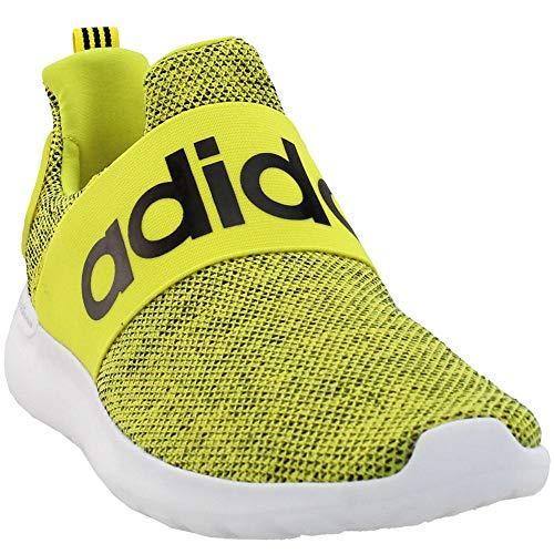 Adidas Men's Lite Racer Adapt Running Shoe (9, Yellow/Black/White)