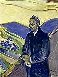 Artland Alte Meister Premium Wandbild Edvard Munch Bilder