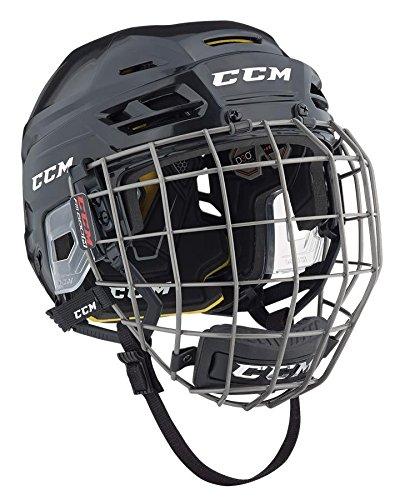 CCM HTC Tacks 310 Ice Hockey Helmet with Cage Senior Navy S
