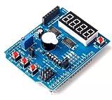 DollaTek Escudo de Placa de expansión Multifuncional para Arduino UNO R3 (L49)