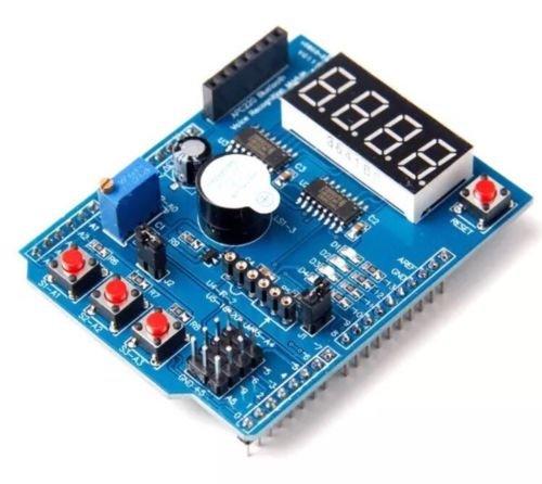DollaTek Multifunktions-Erweiterungskarte Schild für Arduino UNO R3 (L49)
