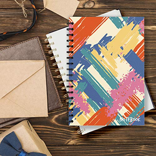 COLOR Notebook: basic notebook for women of the family, used to record recipes and track the amount of food in the fridge. Size: 6 * 9, 200 pages. (English Edition)