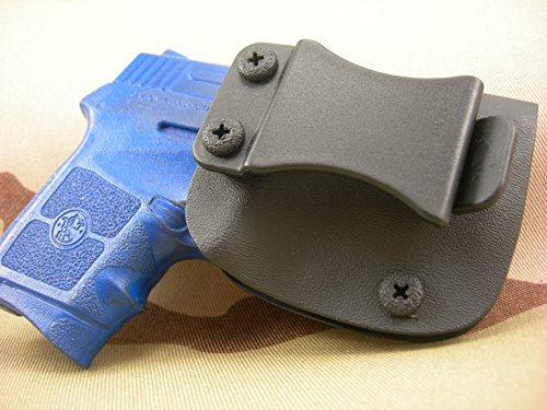 S&W Bodyguard 380 Bandit IWB Kydex Holster (Add Sweat Guard / Straight Drop (0 Cant), Right...