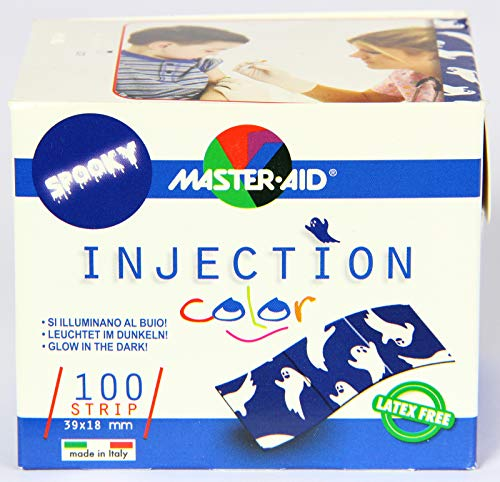 Injection strip color, 18x39 mm, Injektionspflaster,100St