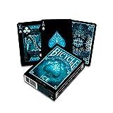 BICYCLE Ice Jeu de Cartes pour collectionneurs, 1040830, Bleu