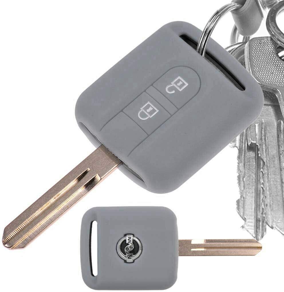 Auto Schlüssel Hülle Silikon Schutz Cover Orange Für Elektronik