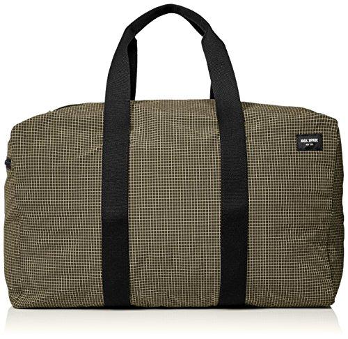Jack Spade Men's Packable Ripstop Duffle Bag, Tank, One Size