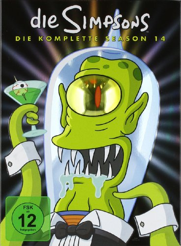 Die Simpsons - Die komplette Season 14 [Collector's Edition] [4 DVDs]
